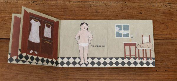 Interior libro ya sé vestirme sola ELena Odriozola
