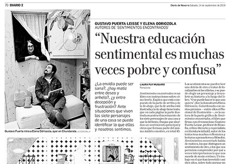 Entrevista en Diario de Navarra