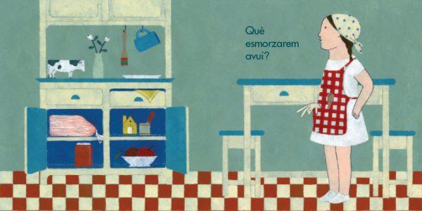 Ilustración Ja sé preparar·me l'esmorzar