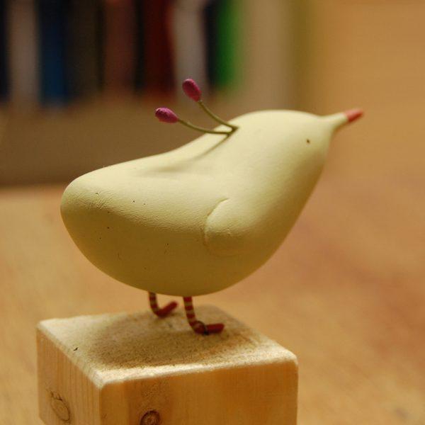 Escultura de Pájaro de Elena Odriozola