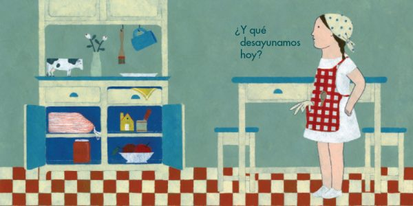 Ilustración desayuno Elena Odriozola
