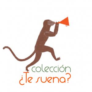 Logotipo Colección Te suena libros ediciones modernas el embudo