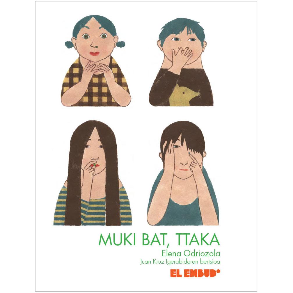 Portada libro Muki bat ttaka