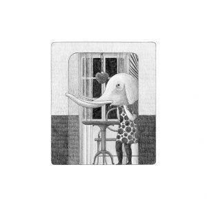 Ilustración Disfraz de elefante Elena Odriozola