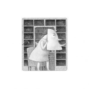Ilustración Rinoceronte Elena Odriozola