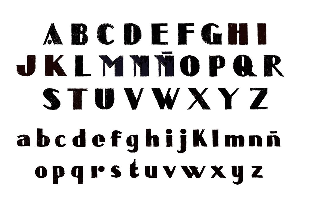 Alfabeto Así soy yo