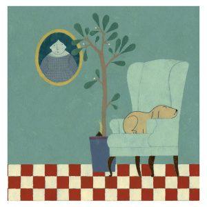 Ilustración Butaca 1 de Elena Odriozola