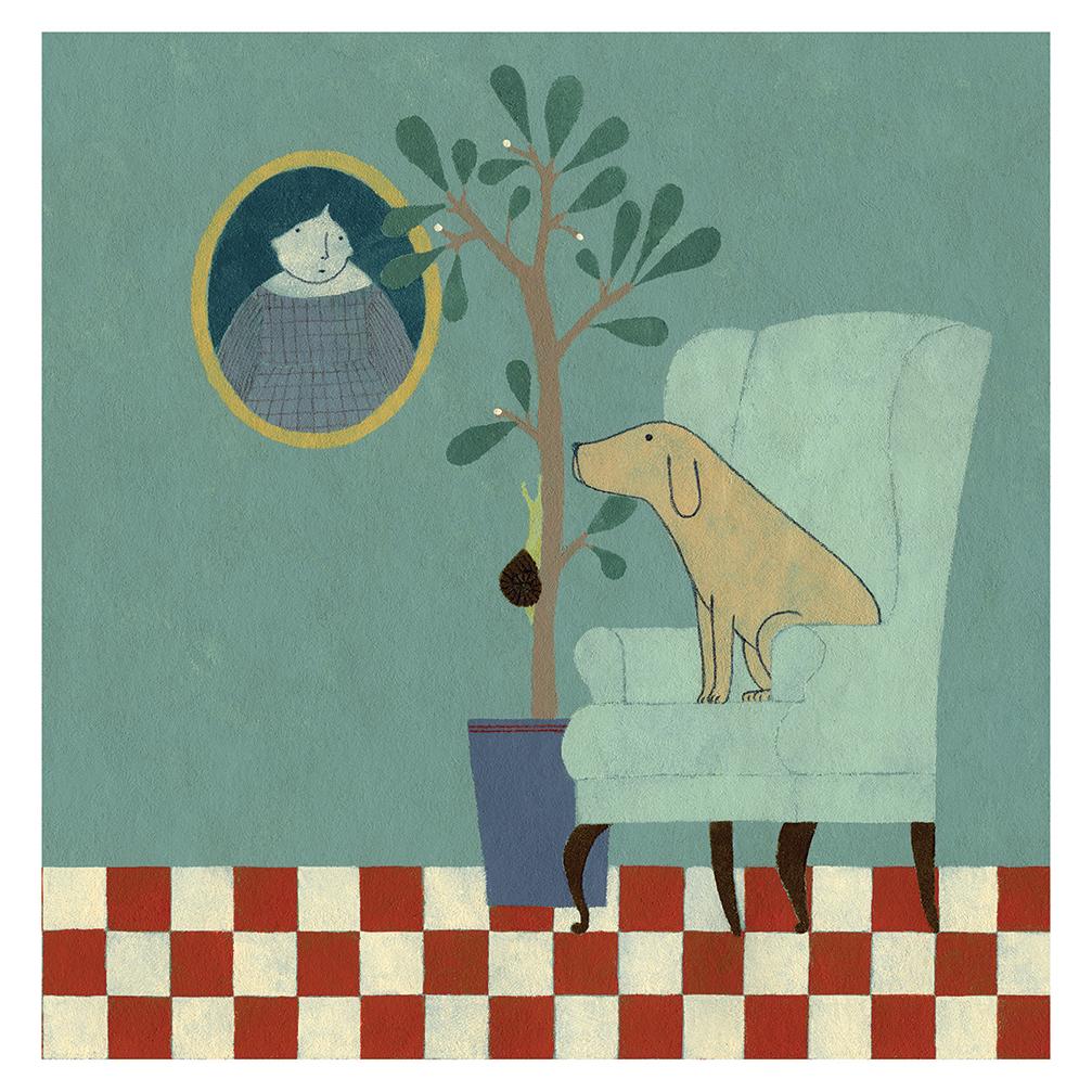 Ilustración Butaca 2 de Elena Odriozola