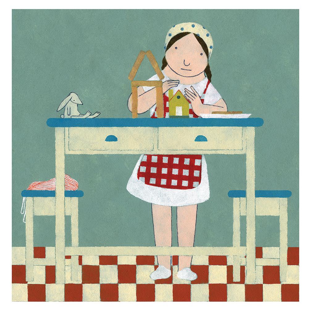 Ilustración Casita de Elena Odriozola